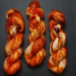 Knit My Fire Silk Mohair